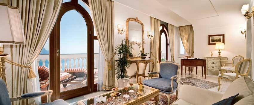 Accommodation at Palazzo Avino, wedding venue in Ravello