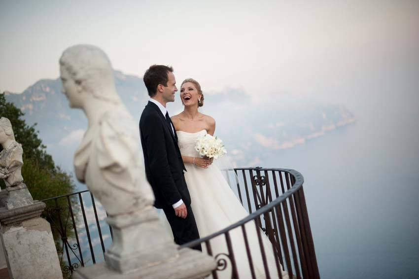 Wedding in Ravello on the Amalfi Coast