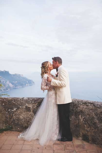 Ravello wedding in exclusive villa