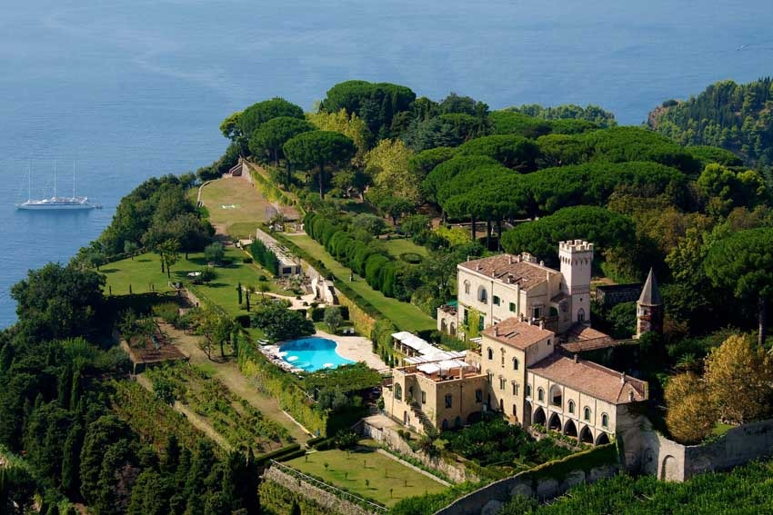 Villa Cimbrone In Ravello On The Amalfi Coast
