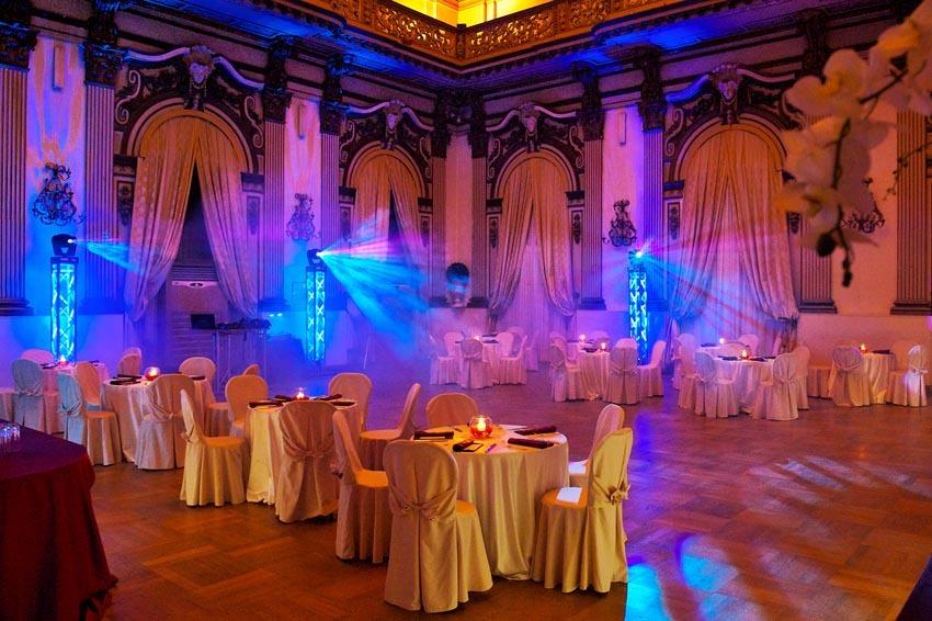 Wedding party at Palazzo Brancaccio
