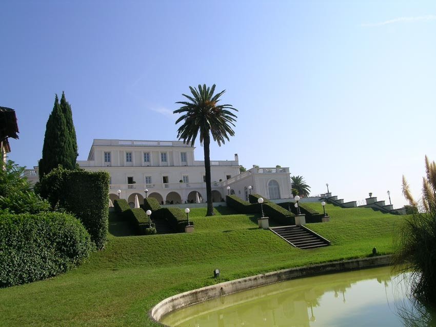 Exclusive Villa Miani for destination weddings in Rome