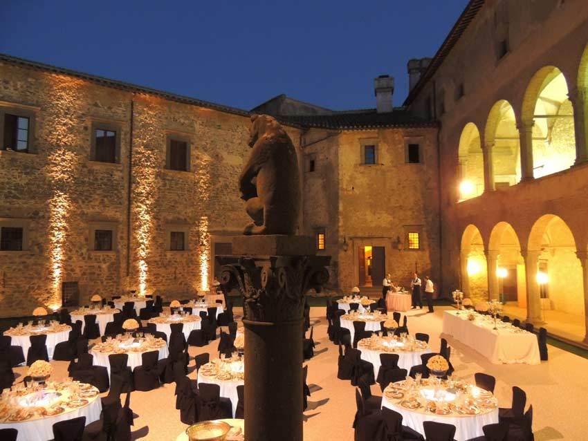 Castello Odescalchi For Lake Weddings Near Rome