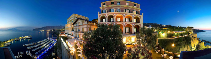 Hotel Excelsior Vittoria for weddings in Sorrento