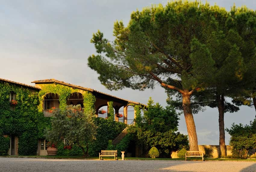 Borgo San Felice for weddings in Tuscany