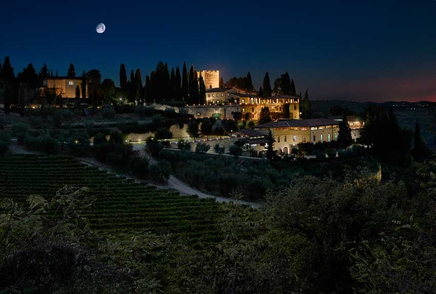 Castello Di Verrazzano Castle Weddings In Chianti Tuscany