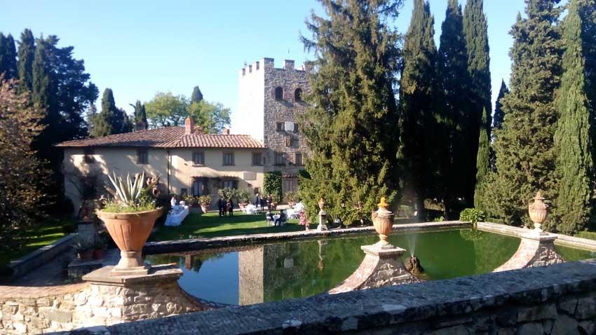 Castello di Verrazzano for castle weddings in Tuscany