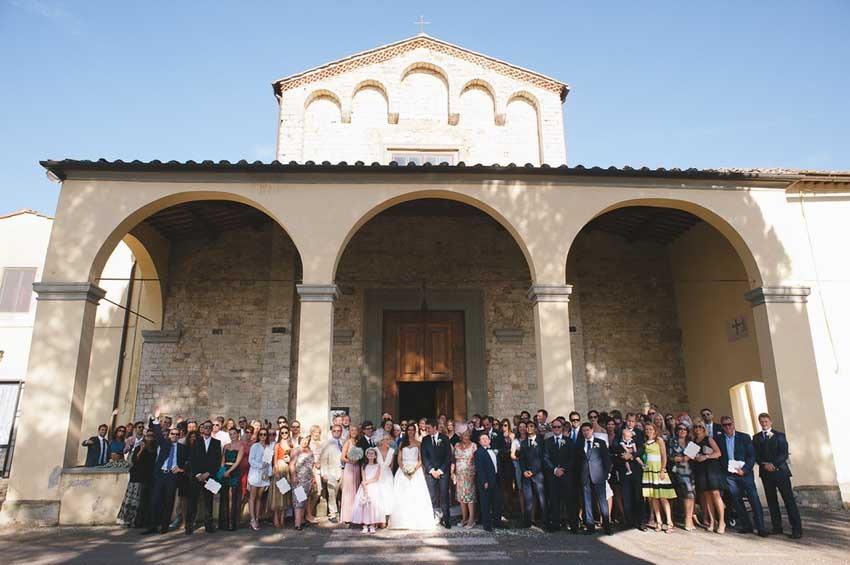Chianti church for catholic weddings in Tuscany