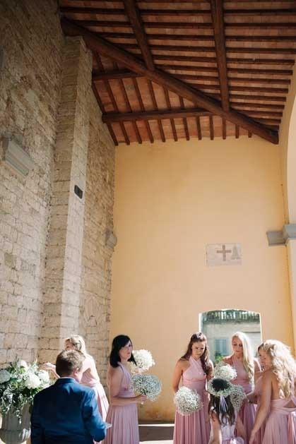 Church for catholic ceremonies in Chianti, Tuscany
