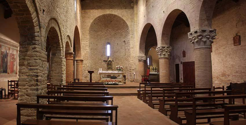 Church of Sant'Appiano for catholic weddings in Tuscany