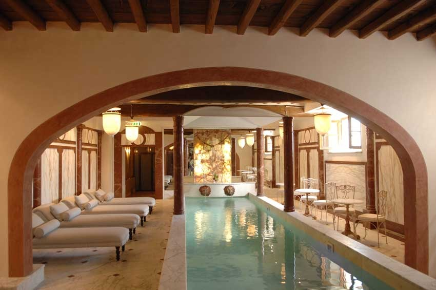 Spa of Villa Mangiacane for Tuscany weddings in the Chianti region