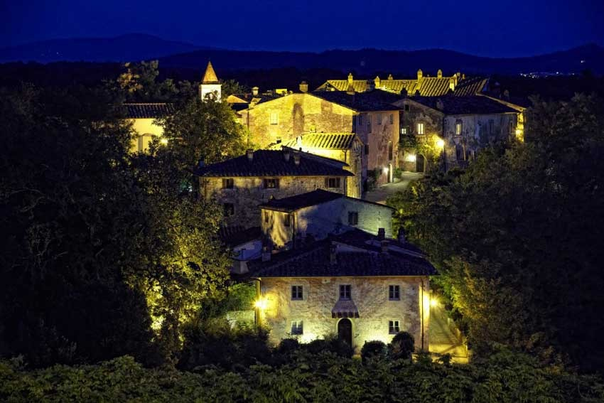 Village Il Borro Relais for weddings in Tuscany
