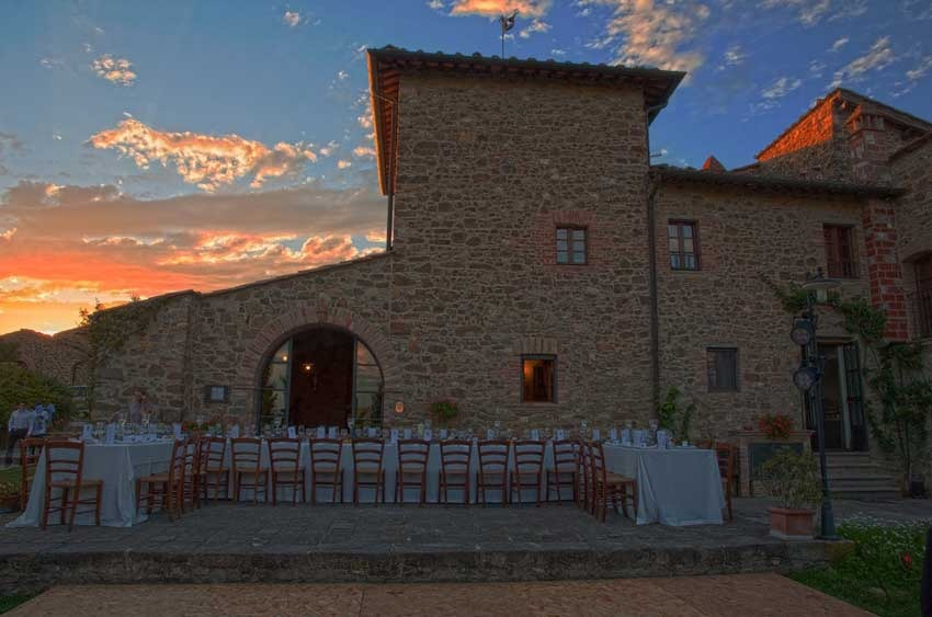 Casa Cornacchi for weddings in Tuscany