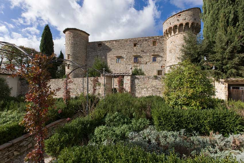 Castello di Meleto for Tuscany weddings in Chianti