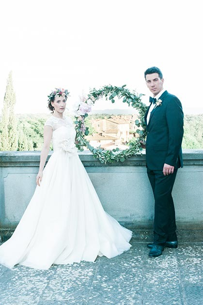 Tuscany wedding at Il Borro Relais