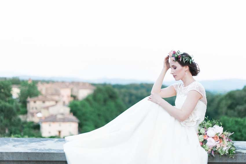 Tuscany wedding at Il Borro Relais