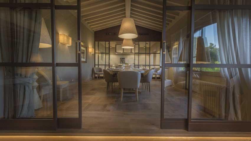 Restaurant of Restaurant of Il Borro Relais for weddings in Tuscany