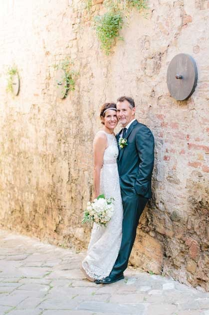 Civil wedding in Certaldo Tuscany