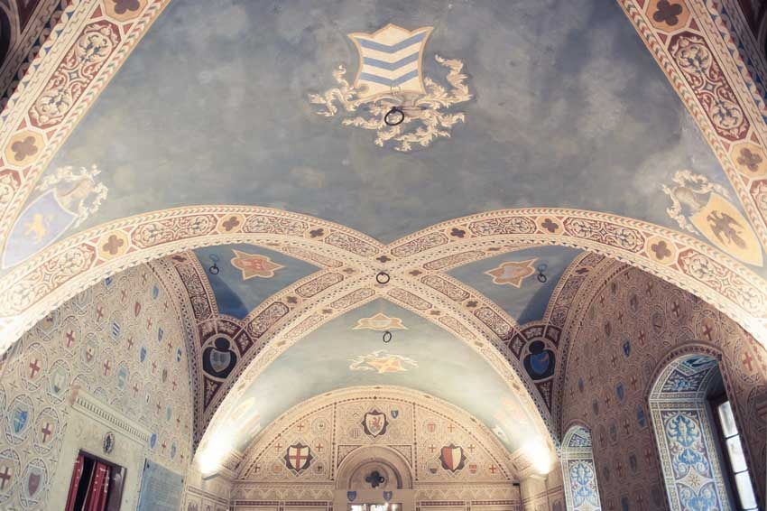 Volterra Town Hall for civil weddings in Tuscany