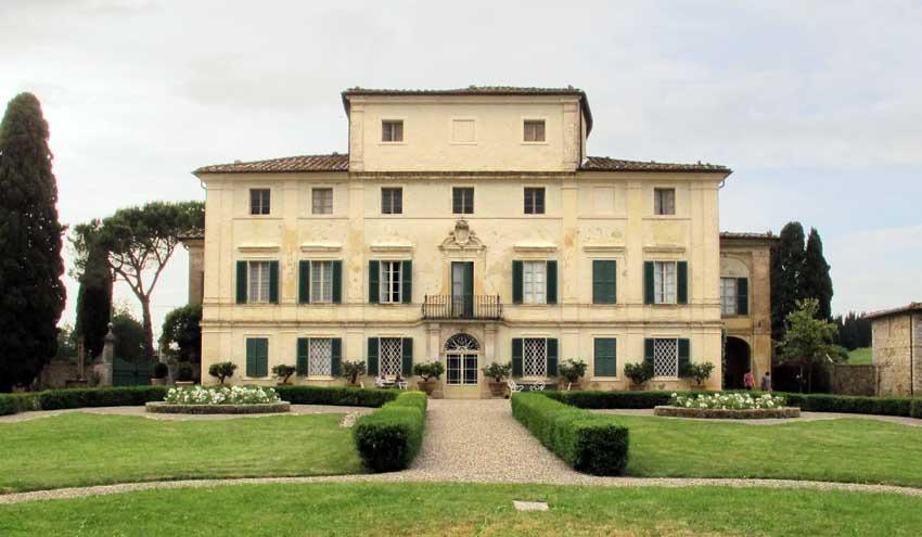 Villa di Geggiano for weddings in Tuscany