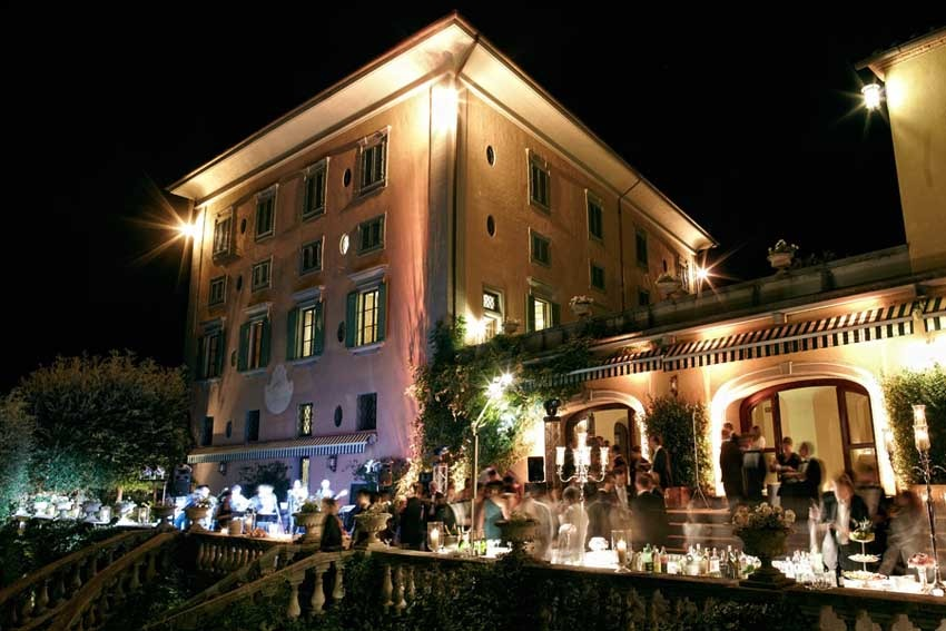 Exclusive Villa Restaurant of Il Borro Relais for weddings in Tuscany