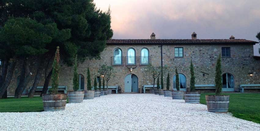 Tuscany weddings at Conti di San Bonifacio