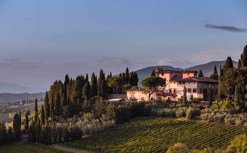 Villa Vignamaggio in Chianti for Tuscany Weddings