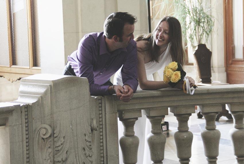 Civil wedding in Udine, Friuli