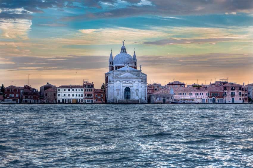 Redentore church for catholic weddings in Venice