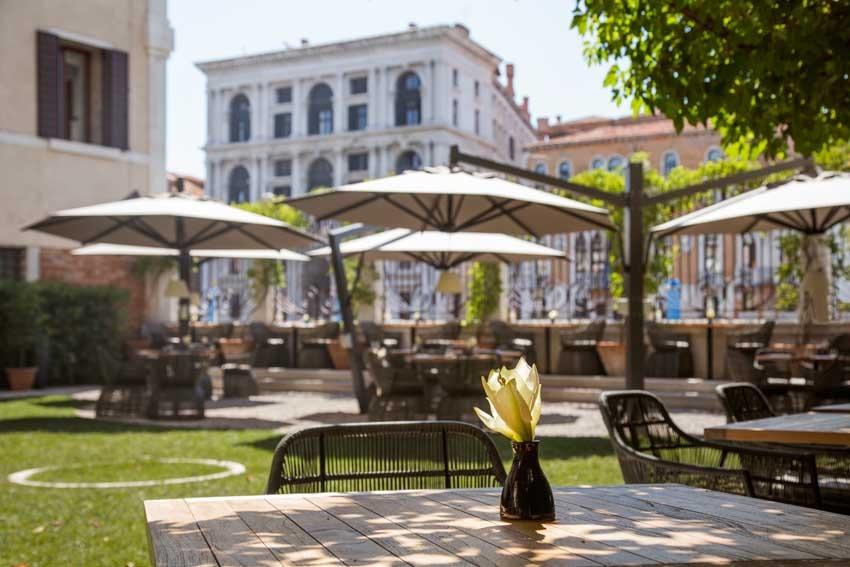 Garden of Aman Hotel for exclusive weddings in Venice