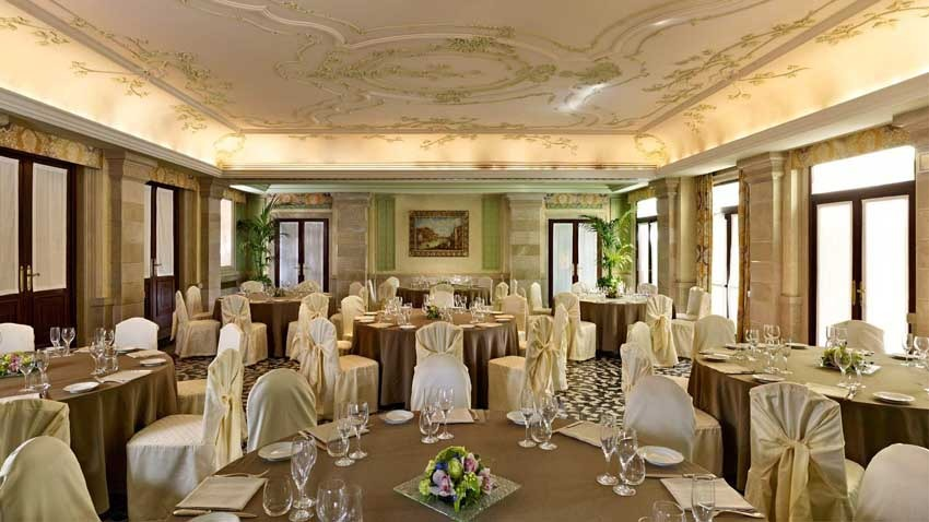 Hall of Europa & Regina Hotel for weddings in Venice