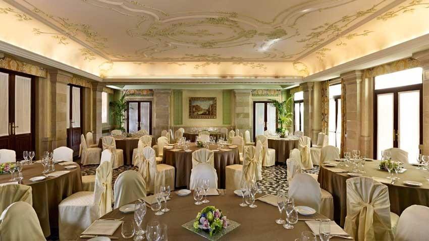 Hall of Europa & Regina Hotel for weddings in Venice