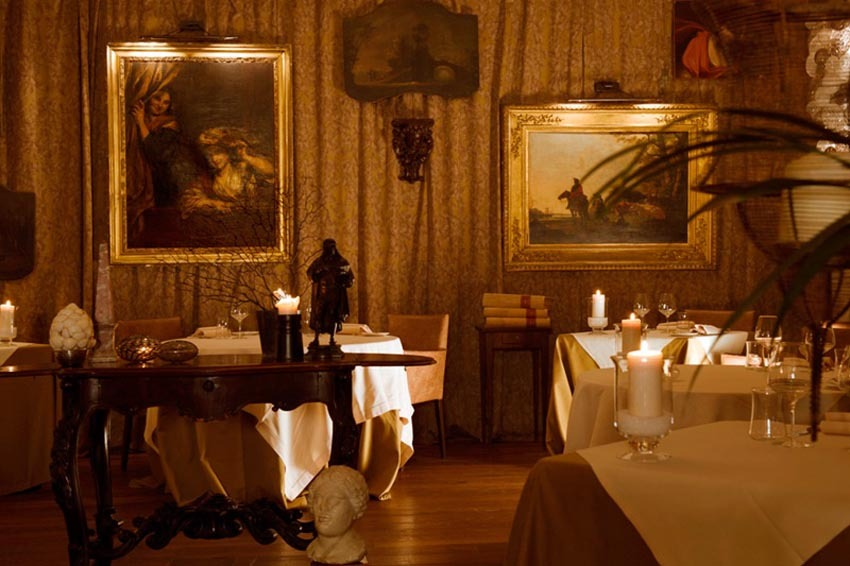 Restaurant of Hotel Metropole for weddings in Venice