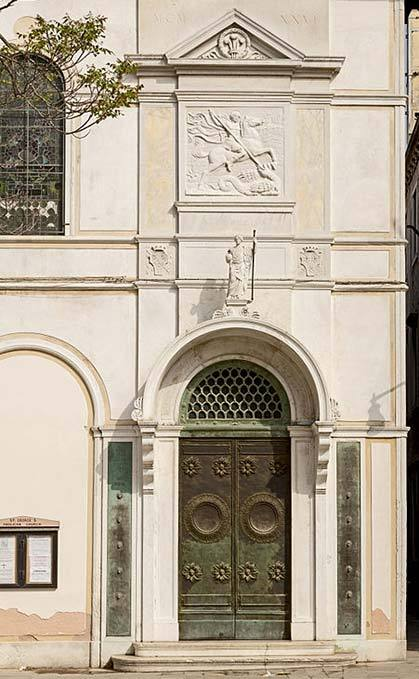Protestant church of St George in Venice