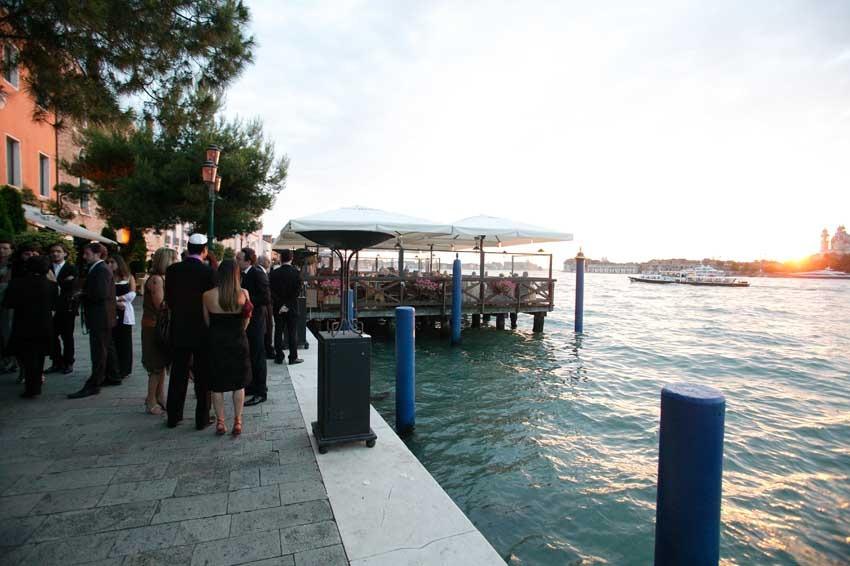 Arrival at Hotel Cipriani in Venice