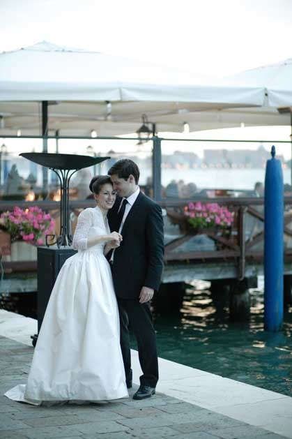 Wedding at Hotel Cipriani in Venice