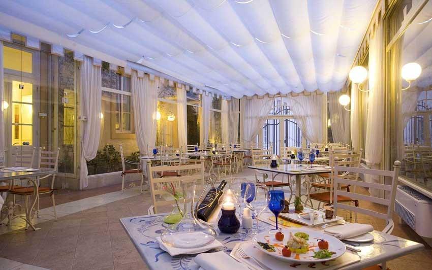 Restaurant of Byblos Art Hotel for weddings in Verona