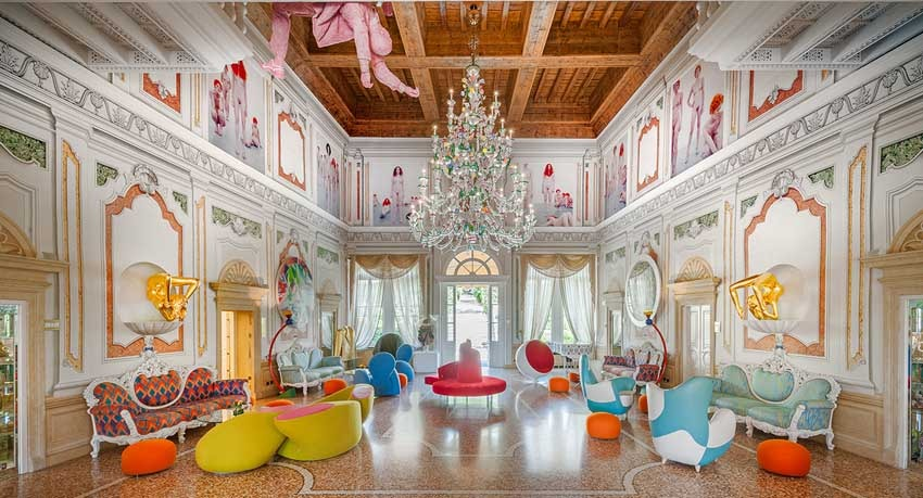 Ballroom of Byblos Art Hotel for weddings in Verona