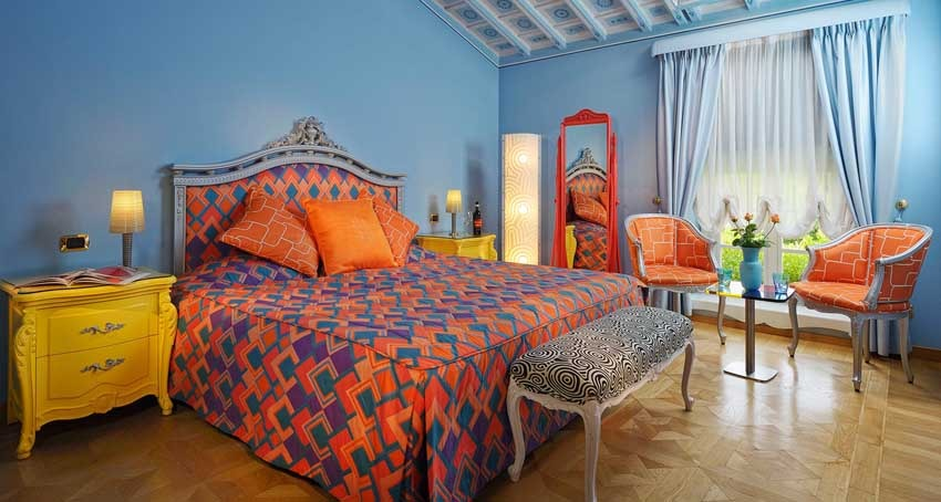 Suite of Byblos Art Hotel for weddings in Verona