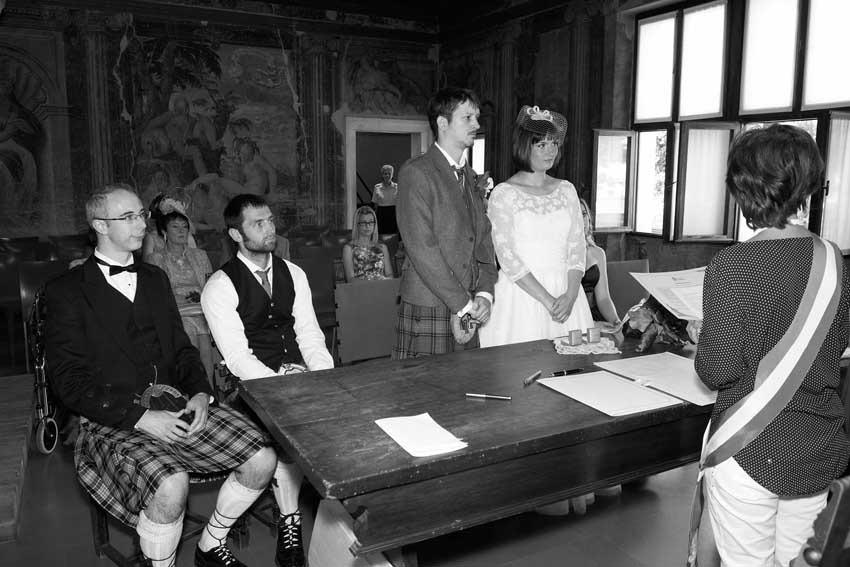 Civil wedding at Juliet's House in Verona