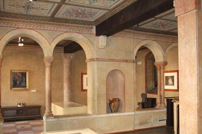 Interior of Juliet's House for civil weddings in Verona