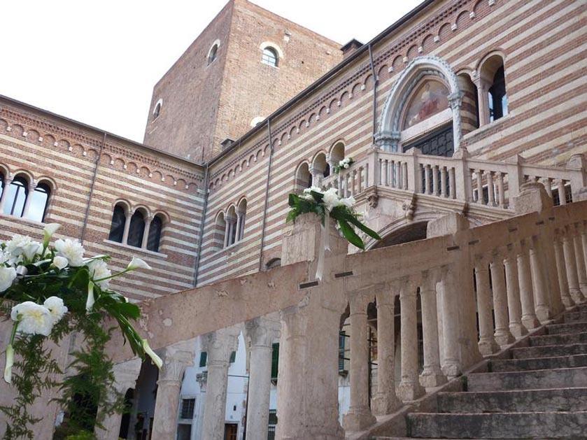 Palazzo della Ragione for civil weddings in Verona