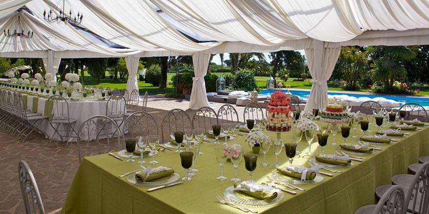 Wedding reception at Villa Appia Antica in Rome