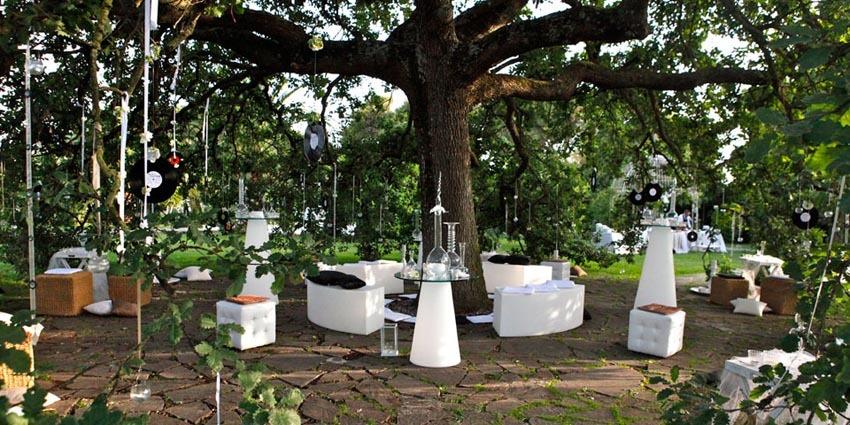 Garden of Villa Appia Antica for weddings in Rome
