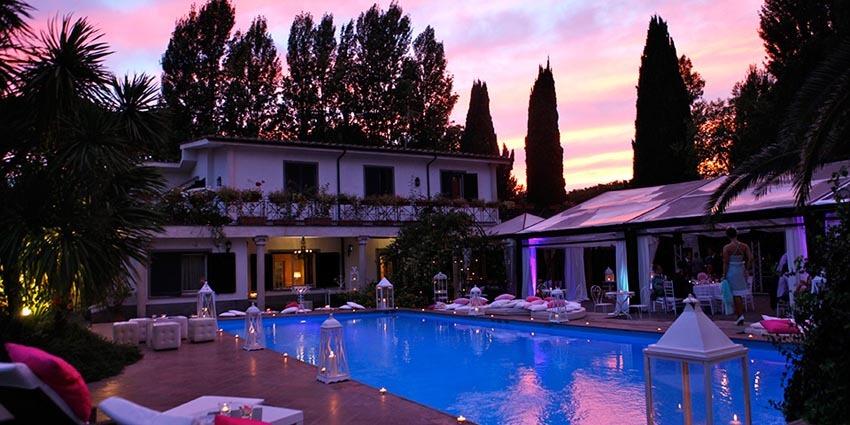 Villa Appia Antica for weddings in Rome