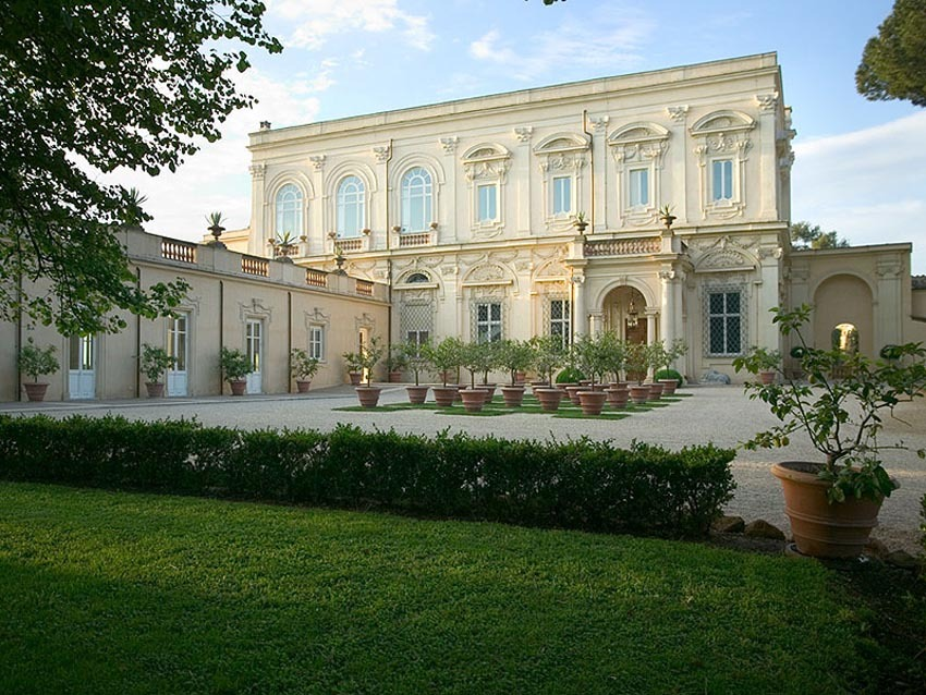 Villa Aurelia for weddings in Rome