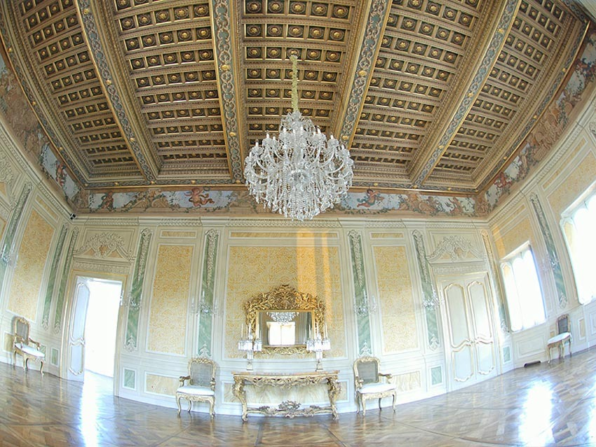 Baroque villa for weddings in Rome