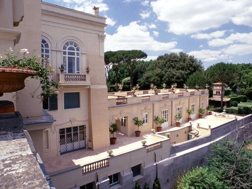 Villa Aurelia for wedding receptions in Rome