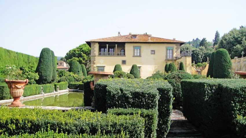 Villa Gamberaia for weddings in Florence