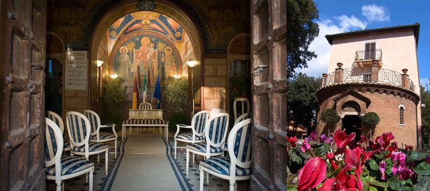 Villa Lais for civil weddings in Rome